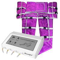Profesyonel Pro Hava Basıncı Pressotherapy Battaniye Zayıflama Vücut Kilo Kaybı Lenfatik Salon Meme Masaj Güzellik Makinesi Ev Kullanımı