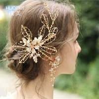 Headpieces Luxury Big Rhinestone Bridal Jewelry Sets Gold Plated Crystal Crown Tiaras Earrings Set For Wedding Bride Hair Accessories