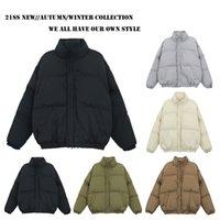 High Quality Fear Of God Down Cotton Jackets FOG Essentials Thick Zipper Skate Ski Coat Men Women Jacket Parka Coats Man Winter Plus Size Outswear WindBreaker