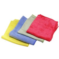 Towel 4pcs 40x30cm Microfiber Car Wash Cloth Cleaning Drying Detailing Beauty Care Accessories