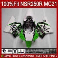 Inyección por HONDA NSR 250R verde blanco NSR250 NSR 250 R 90 91 1992 1993 103HC.123 NSR250R MC21 PGM3 NSR250RR 1990 1991 92 93 PAQUETE OEM
