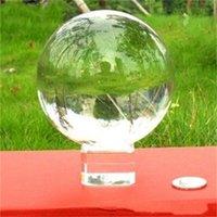 Yuvarlak Kristal Top Doğal Sanat 60mm Şifa Şans Akrobasi Araçları Kadın Adam Şeffaf Moda Kristaller Topları Süsler 7 9ey K2
