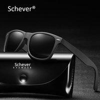 Sonnenbrille Schever Marke Reflektierende Polaroidmänner Luxus Retro Klassische Schatten Für Fahren Ein Auto Sport Sonnenbrille Männlich 2021