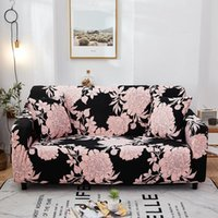 Chair Covers Stretch Sofa Cover For Living Room Slipcover Sectional Elastic Couch L Shape Corner Armchair 1 2 3 4 Seater