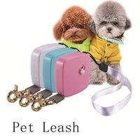 2m Mini mini bolsillo retráctil automático Correa para perros pequeños EXTRAJEJO EXTRAÑO TRATANDO PROTECTOR DE PERRO LEAVESH PARA PEQUEÑOS PET PERROS Suministros para mascotas