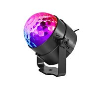 Effects Holiday Lighting 3W Mini RGB Crystal Magic Ball Led Stage Lights DJ KTV Disco Party Lamp IR Remote Control Christmas Projector USASTAR