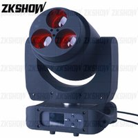 80% Discount 4PCS Lot 3*60W RGBW Zoom Wash Moving Head Light for DJ Disco Party Nightclub Wedding Show Event Pro Stage Lighting Equipment