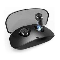 X18 TWS 무선 블루투스 이어폰 스포츠 헤드셋 이어 버드 소음 감소 터치 컨트롤 핸즈프리 안드로이드 아이폰