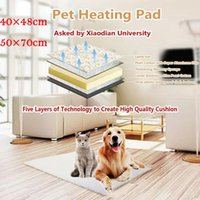 Kennels & Pens Self Heating Thermal Pet Bed Cushion Heated Mat Dog Cat Washable Super Warm Rug