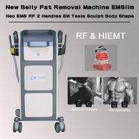 Système de sculptage Hi-EMT Emsslim Bâtiment musculaire Minceur Machine Machine électromagnétique Entraîneur de muscle Telasculptant Salon de beauté