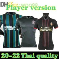 Versão do jogador MLS 21 22 22 Jersey Montreal La LaFC Galáxia Inter Minnesota Miami 2021 2022 Atlanta York Football Camisas