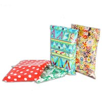 Gift Wrap 50pcs Lots Mailer Postal Bags Poly Envelope Personality Colors Printing Cute Pattern Packing Clothing Express Bag