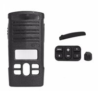 Walkie Talkie A12 Replacement Housing Case Cover Kit For Motorola CP110d RDM2070d Two Way Radio Black