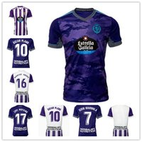 Real Valladolid Jerseys 21 22 Weissman Fede S. Sergi Guardiola Óscar Plano L. Olaza R.ALCARAZ Marcos Andre Jersey 2021 2022 Homens Kit Kit Camisetas de Fútbol Camisas