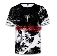 Najnowszy Hip Hop 3D T Shirt XXXTENTACION J Cole Dogg Moda Mężczyźni Kobiety Hipster Tee Rap Krótki Rękaw 3D T Shirt