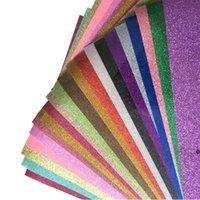 Wärmeübertragung Vinyl Glitter Schriftzug Film HTV Kleidung Stoff Wärmeübertragung Wärmeübertragung Heißprägen Film FWF9529