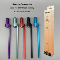 100% Original SENTRY Battery Connector Vape Batteries Wax Atomizers Quartz Coil Vaporizer instant nectar collector Concentrate CONNECTAR 510 thread