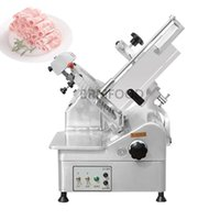 Electric Lamb Slice Cutting Machine Meat Slicer Mutton Roll  Beef Cutter Stainless Steel Mincer 0-12mm 220V