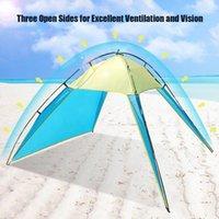 해변 캠핑 천막 야외 실내 텐트 야외 자외선 차단 낚시 마당 캠핑을위한 캠핑을위한 태양 그늘 보호소