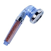 رؤساء دش الحمام شينجوبين ارتفاع ضغط اليد المحمولة رئيس ABS توفير المياه الرشاش 3 وظيفة قابل للتعديل الفلتر الفلتر سبا