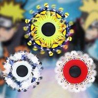 3D Phantom Naruto Decompression Dinâmico Dinâmico Fidget Toys Festa Favor Adotip Mão Brinquedo Stress Educacional Crianças Sensor de Presente Dedos Spinner com Pacote de Caixa