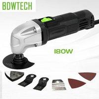Oscylujące wielofunkcyjne narzędzia BDWTECH 220V Elektryczny zestaw narzędzi wielofunkcyjnych Multi-Tool Power Trymer Piły