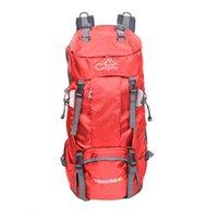 Grande capacité 60L sac à dos pliable imperméable sac de camping avec couvercle de pluie Camping Randonnée Randonnée Trekking Trekking Travel Sacs d'escalade