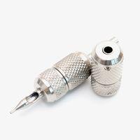 2pcs 문신 그립 프리미엄 품질 백로드가있는 스테인레스 스틸 문신 손잡이 25mm 제공