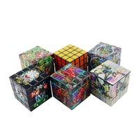50 adet 4 Katmanlı 60 * 60mm Çinko Alaşım Herb Tütün Rubik Küp Öğütücü Sigara Aksesuarları Spice Biber Miller Kırıcı Makinesi Aracı