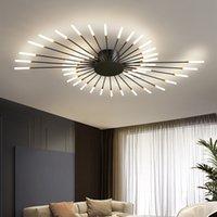 Modern LED Ceiling lights Chandelier for Living room Novelty fireworks modeling lighting Nordic Home Decoration Lamps Bedroom fixtures