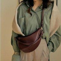 Sacs de bandoulière de Half Moon Designer pour femmes nouées Bandoulière Sac à bandoulière Femmes de luxe PU cuir sac à main pour femmes Sac à main solide
