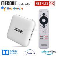 MeCool KM2 ل Netflix 4K Android TV Box Amlogic S905X2 2GB DDR4 USB3.0 SPDIF Ethernet WiFi Prime Video HDR 10 Widevine L1 TVBox