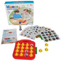 Neue Kinder Memory Match Board Spiel mit Karten Früher Entwicklungsspielzeug für 3 Jahre