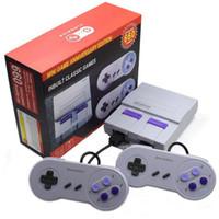 TV Palmare mini console da gioco Can Shop 660 Giochi Sistema di intrattenimento più nuovo per SFC Nes Snes Viedo Games Box Box