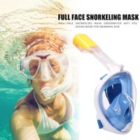 Diving Masks Full Face Scuba Mask Anti Fog Goggles Underwater Snorkel Swimming Safe Equipment For Adult Youth
