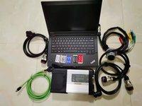 MB Star C5 SD Connect C5 com V3 / 2021 Soft-Ware em 256GB SSD usado laptop Lenovo T440P Auto Estrela Diagnóstico Ferramentas para Mercdes Veículos