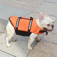 Dog Apparel Premium Life Jacket Adjustable Lifesaver Safety Reflective Swimming Vest Pet Preserver For Small Medium Large Dogs