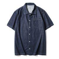 Men's Casual Shirts Fashion Mens Clothings comfortable five pockets Dress Stylish Shirt 2053