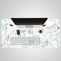 Mouse Pads & Wrist Rests 900*400 800*400 600*300 PU Pad 2 Mm Thick Creative Office Non-slip Table Waterproof Easy To Clean Desk Mat