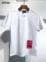 DSQPHANTOM TURTLE 2020SS New Mens Designer T shirt Italy fashion Tshirts Summer Men DSQT-shirt Male Top Quality 100% Cotton To wiM
