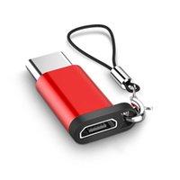 Adaptateur USB Micro USB Convertisseur Cable Cable C Adaptateur C USB 3 1 Support OTG pour Xiaomi 4C Huawei HTC OnePlus LG Tablet