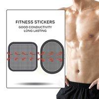 Zubehör 3 teile / satz Silikonelektrodenpolster Massagegerät Abnehmen Elektroden Patch Körperpads für Bauchgürtel