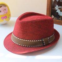 Bambini Jazz Caps 21 Design Fedora Trilby Hat Fashion Unisex Cappelli Cappelli Cappelli Baby Boy Girls Cappelli per bambini Accessori per bambini Cappelli 219 U2