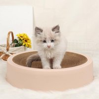Cat Beds & Furniture Litter Scratcher Corrugated Paper Circular Grinding Claw Nursing Pet Chewing Toy Cardboard Supplies