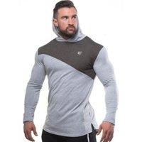 2021 homens de algodão fino hoodie academias fitness suéter homem outono novo casual moda jaqueta com capuz masculino basculador workout marca roupas megf