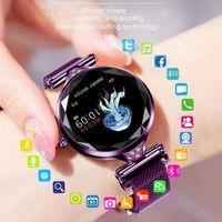 Designer uhr marke uhren luxusuhr ip68 wasserdichte multi-sport moden zeitmesser herzfrequenz smart fitness armband für dame geschenk