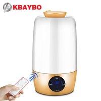 KBaybo Большой емкости Очиститель воздуха с дистанционным управлением Ультразвуковой электрический эфирным маслом увлажнителя увлажнения