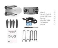E59 4K Kamera WiFi FPV Mini Anfänger Drohne Spielzeug, Spurflug, Höhe Hold, One Button Rückkehr, Geste Nehmen Foto, Weihnachtskind Geschenk, 3-3