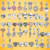New 925 Silver Bracelets Accessories Charm Bead fit Pandora charms beads Bracelet for women DIY Jewelry Gift With Original Bag