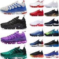 TN Artı Erkekler Kadınlar Kraliyet Smokey Leylak Dize colorways Metalik Üçlü Beyaz Siyah Bred Eğitmenler Spor Spor ayakkabılar Boyutu 36-46 İçin Ayakkabı Koşu